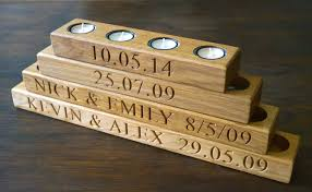 5 year wedding anniversary gift ideas 5th wedding anniversary wooden gift ideas makemesomethingspecial