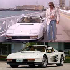 koenigsegg miami miami vice don johnson and my favourite car the ferrari