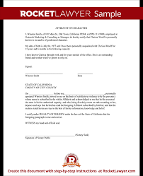 sample of good character letter for immigration cover letter