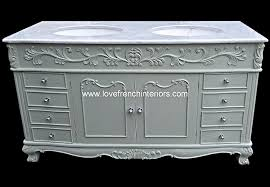 double bowl sink vanity bespoke double bowl french vanity unit with solid marble top