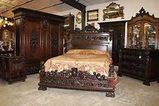 Queen Bedroom Suite Antique Beds U0026 Bedroom Sets 1800 1899 Ebay