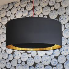 Black Ceiling Light Shade 367 Luxury Oversized Drum Pendant Light Nl Lighting Pinterest