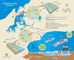 Panama World Map by Frequently Asked Questions Expanded Panama Canal