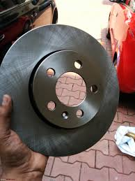 diy skoda fabia brake disc rotor change u0026 4th service too