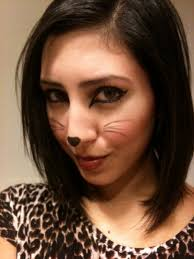 simple cat makeup halloween how to draw halloween cat makeup images