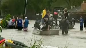 thanksgiving in houston flood victims rescued in houston nbc news