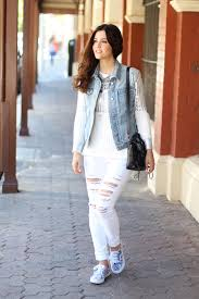 all white casual all white