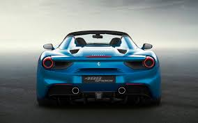 ferrari 488 wallpaper ferrari 488 spider rear wallpapers 7196 download page