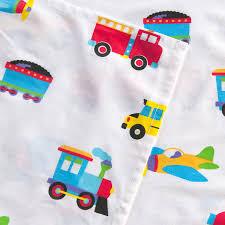 Airplane Toddler Bedding Trucks Trains Airplanes Sheet Set Toddler Crib Twin Full