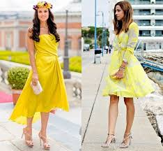 yellow dresses for weddings best 25 yellow wedding guest dresses ideas on wedding
