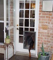 French Door Photos - custom made maxseal french door pet doors for removable glass