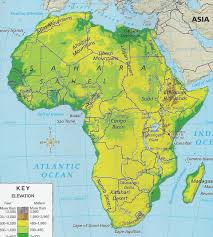 Sub Saharan Africa Map Quiz by 7th Grade Eastern Hemisphere Geography Workbook
