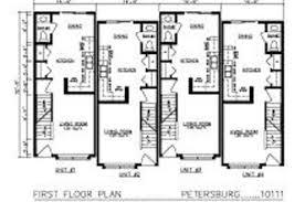 emejing 4 unit apartment building plans gallery home design