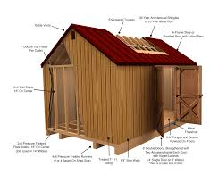 Shed Style Treated Wood Sheds U2014 Liberty Storage Solutions