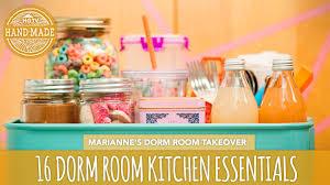 16 back to dorm room kitchen essentials hgtv handmade
