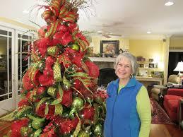 mesh ribbon ideas unthinkable christmas tree decorating ideas with mesh ribbon homey