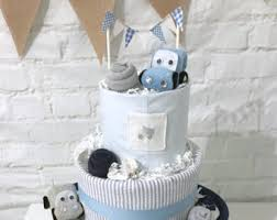 Diaper Centerpiece For Baby Shower by Car Diaper Cake Etsy