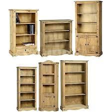 Tall Skinny Bookcase Bookcase Corona Mexican Pine Small Bookcase Rustic Mexico