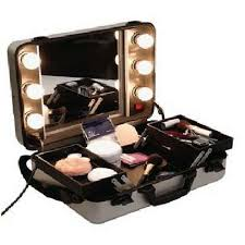 Vanity Case Beauty Studio Professional Hollywood Make Up Box W Shl St Pinterest