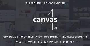 canvas the multi purpose html5 template by semicolonweb