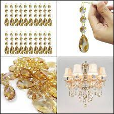 Teardrop Crystals Chandelier Parts Replacement Chandelier Crystals Lamp Repair Refurbishing Ebay