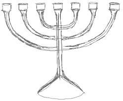 hanukkah menorahs how to draw hanukkah menorahs with easy step by step drawing