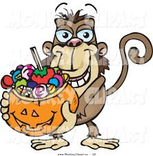 clipart of halloween royalty free stock monkey designs of cartoon characters