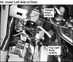2004 acura mdx the brake lights fuse box diagram under hood