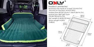 2 inflatable car beds i like
