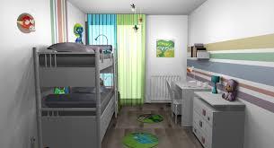 chambre garçon lit superposé chambre enfants garçons jungle multicolore lit superposés