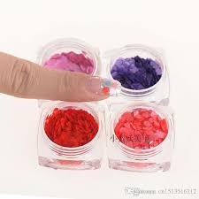 diy manicure tool paillette nail polish glitter sequins laser