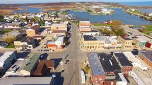 small town america scenic small town america aerial tour stock footage video 12649361
