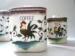 country canisters for kitchen rooster kitchen canisters canister sets affordable modern home