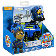 amazon paw patrol chase u0027s spy cruiser vehicle figure