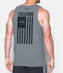 Black American Flag Tank Top Men U0027s Military U0026 Tactical Graphic T U0027s Under Armour Us