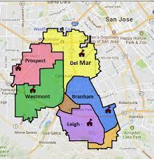 san jose unified district map san jose willow glen schools siliconvalleymls