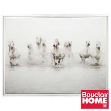 Bouclair Home Decor Bouclair Wild Horses Canvas