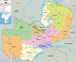 Tonga Map Maps Of Zambia Map Library Maps Of The World