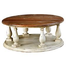 White Distressed Wood Coffee Table Table Round Distressed Coffee Table Dubsquad