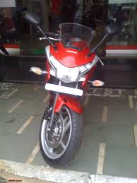 honda cbr cc dream comes home honda cbr 250r std red team bhp