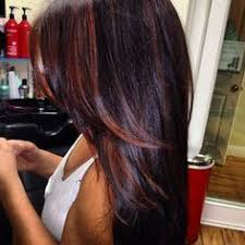 i want these colors just the opposite blonde with red highlights