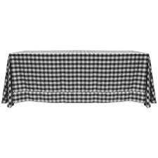 Black And White Table Cloth Buy Checked Tablecloth From Bed Bath U0026 Beyond
