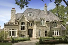 single story french country home plans