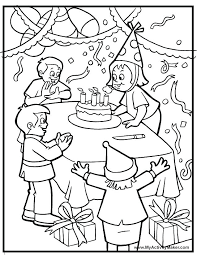 coloring pages for birthdays printables birthday coloring pages free printable happy birthday coloring pages