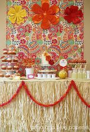 Incredible Homemade Hawaiian Table Decorations Accordingly