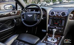 bentley interior black bentley continental flying spur