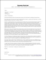 cover letter addresses search networking cover letter