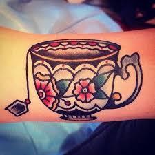 the 25 best tea tattoo ideas on pinterest cup of tea tattoo