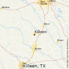 killeen map best places to live in killeen
