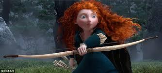 pixar u0027s animated movie brave stars archery loving scottish